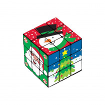 Amscan Christmas Puzzle Cube (6-Count 4-Pack)