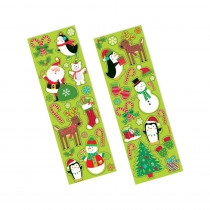 Amscan Fun Christmas Stickers (156-Count 11-Pack)