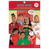 Amscan Christmas Photo Booth Prop Kit (21-Count)