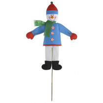 Amscan Friendly Snowman 47 in. Christmas Yard Sign (2-Pack)