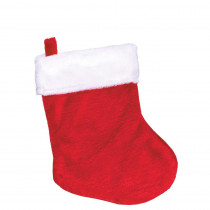 Amscan 5 in. x 2.5 in. Plush Christmas Stockings (13-Pack)