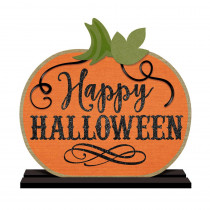 Amscan 14 in. x 10.5 in. Halloween Standing Sign (2-Pack)
