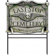 Amscan Halloween Cemetery Sign Stakes
