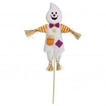 Amscan 24 in. Halloween Ghost Value Yard Stake (1-Count 4-Pack)