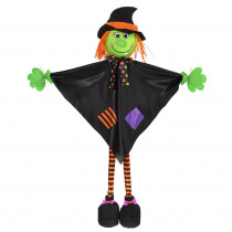 Amscan 36 in. Large Halloween Standing Witch Prop