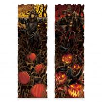Amscan 37 in. Halloween Field of Screams Lenticular Sign