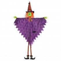 Amscan 84 in. Halloween Large Hanging Witch Decoration
