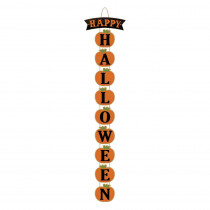 Amscan 28 in. x 4.125 in. Halloween Deluxe Vertical Sign (2-Pack)