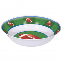 Amscan 13 in. x 3.5 in. Football Serving Bowl