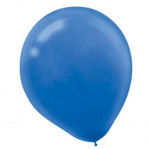 Amscan 9 in. Bright Royal Blue Latex Balloons (20-Count, 18-Pack)