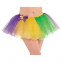 Amscan Green, Purple and Gold Mardi Gras Adult Tutu