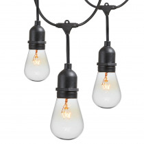 Newhouse Lighting 48 ft. 11-Watt Outdoor Weatherproof String Light with S14 Incandescent Light Bulbs Included