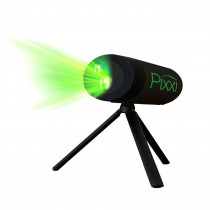 BlissLights Pixxi Green Laser Holiday Animation Projector Light with Remote Control