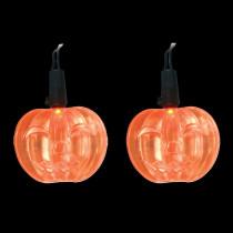 Brite Star LED Orange Battery Operated Pumpkin Lights (Set of 10)