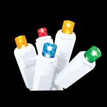 Brite Star 60-Light LED Multi-Color Twinkling Icicle Lights