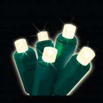Brite Star 70-Light LED Warm White 4 ft. x 6 ft. Micro Mini Net Light (Set of 2)