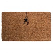 Entryways Spider 18 in. x 30 in. Hand Woven Coconut Fiber Door Mat