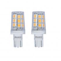Bulbrite 15-Watt Equivalent T3 Dimmable Wedge LED Light Bulb Soft White Light (2-Pack)