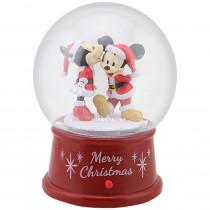 4.5 in. Snow Globe Minnie Kissing Mickey