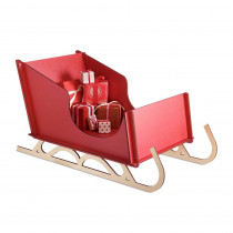 17.8 in. Christmas Alpine Sleigh Decoration