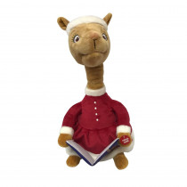 13.5 in. Storytelling  Llama Red Pajama