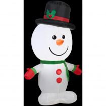 2 ft. W x 3.5 ft. H Outdoor Snowman