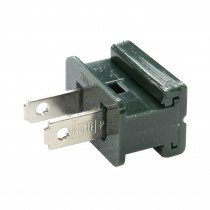 18-Gauge Slide On Male Connector Plug (Pack of 25)