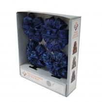 4 in. Blue LED Light Mini Bows (4-Pack)