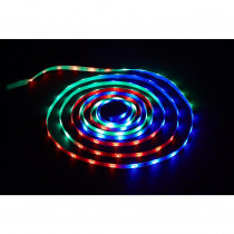 Commercial Electric 18 ft. LED Connectible Indoor/Outdoor Color Changing (White and RGB) Tape Light with Remote Control