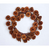 16 in. Pinecone Wreath