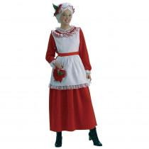 Forum Novelties Classic Women's Mrs. Claus Costume