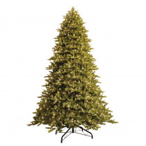 GE 9 ft. Just Cut Norway Spruce EZ Light Artificial Christmas Tree with 1000 Color Choice LED Lights