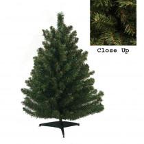 Darice 18 in. Natural Two-Tone Pine Artificial Christmas Tree - Unlit