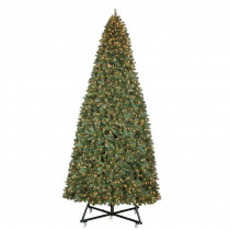 15 ft. Pre-Lit LED Wesley Pine Artificial Christmas Tree x 6558 Tips with 2400 Warm White Lights