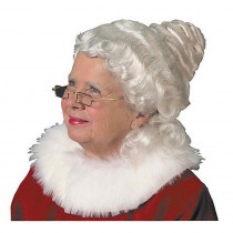 Halco Adult Beautiful Mrs. Claus Wig