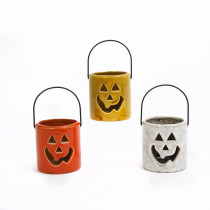 3 in. Ceramic Halloween Lantern