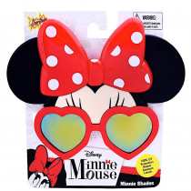 Officially Licensed Minnie Mouse Heart Frame Orange Lens Sun-Staches
