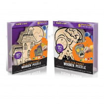 9 in. Haunted House and Zombie Puzzle PDQ