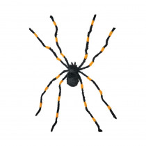 78 in. Giant Black and Orange Tarantula