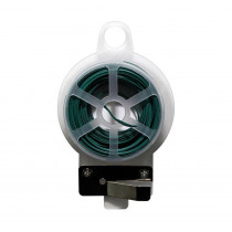 Home Accents Holiday 24 ft. Wire Tie Dispenser with Cutter in Green