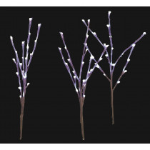 Home Accents Holiday LED Pathway Twig Lights (Set of 3)