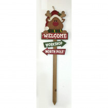 Home Accents Holiday 36 in. Holiday Yard Stake (5 Assorted Styles)