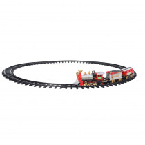 Home Accents Holiday 14.25 in. Christmas Tree Train