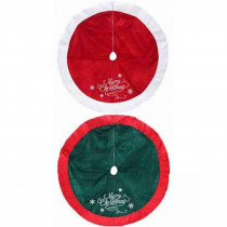Home Accents Holiday 48 in. Velvet/Satin Tree Skirt Assorted - 2 Styles