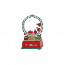 Home Accents Holiday 7 in. Animated Roller Coaster with LED Illumination