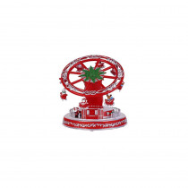Home Accents Holiday 6.25 in. Animated Turning and Telescoping Whirl a Wheel with LED Illumination