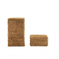 Home Accents Holiday 20 in. and 32 in. PVC Hay Bale Set