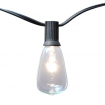Lumabase Light Edison Bulb String Lights in Clear (10-Pack)