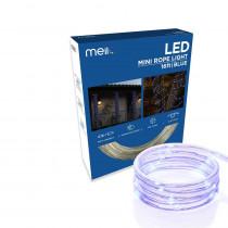 Meilo 16 ft. 80 LED Blue Mini Rope Light
