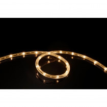 Meilo 16 ft. Soft White All Occasion Indoor Outdoor LED 1/4 in. Rope Light 360° Directional Shine Decoration (2-Pack)